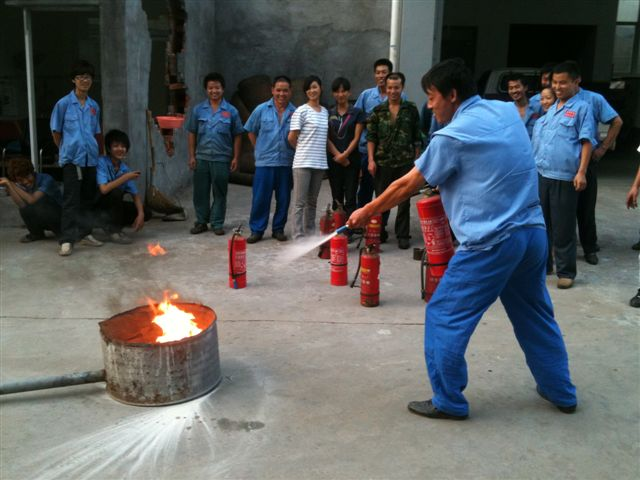 工厂消防演习步骤